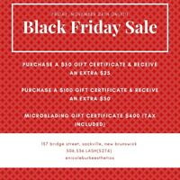 Nicole Burke Esthetics BLACK FRIDAY SALE