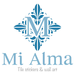Mi Alma Tile stickers and wall art