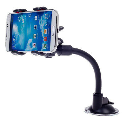 Car Phone Holder Dashboard Windshield Suction Cup Clips Mount for iPhoneSamsungP