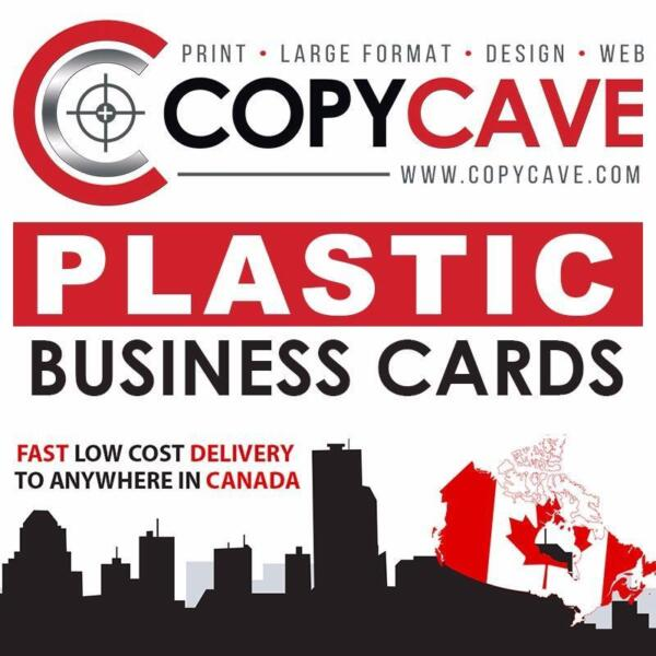 Plastic business cards best prices opaque frosted semi plastic business cards best prices opaque frosted semi transparent or clear business industrial canada kijiji reheart Choice Image