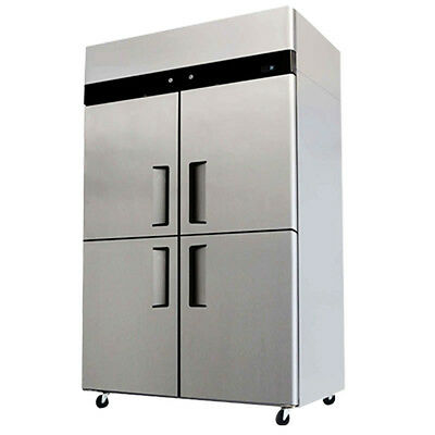 Commercial Refrigerator Freezer Combo Stainless Steel 4 Door Ybl9342 Cooler