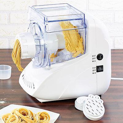 Rosenstein & Söhne Pasta-Maker Nudel-Maschine NM-400 mit Teigkneter