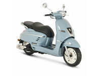 PEUGEOT DJANGO HERITAGE 50 2T - CLASSIC RETRO SCOOTER - LEANER LEGAL - TWIST & G