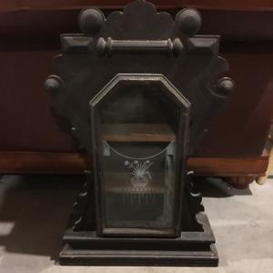 GINGERBREAD CLOCK CASE SHELF