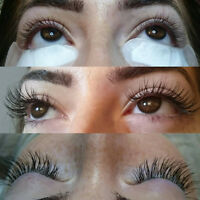 CLASSIC AND 3D RUSSIAN  LASH EXTENSION APPOINTMENTS AVAILABLE