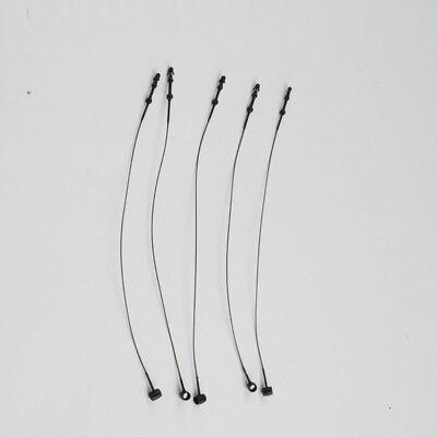37 Snap Lock Pin Security Loop Plastic Tag Fastener Tie Black 800pcsbag