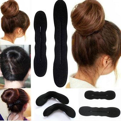 2 Stück Neu Haar Dutt Twister Frisierhilfe Haarband Haarschmuck Frisur Tool
