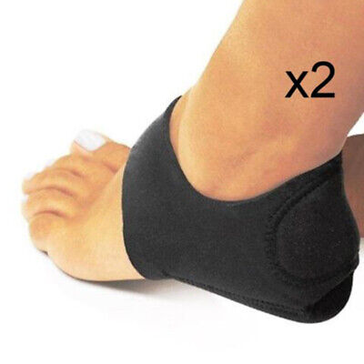 Foot Heel Pain Relief Plantar Fasciitis Insole Pads Arch Support Insert Prop Set ()
