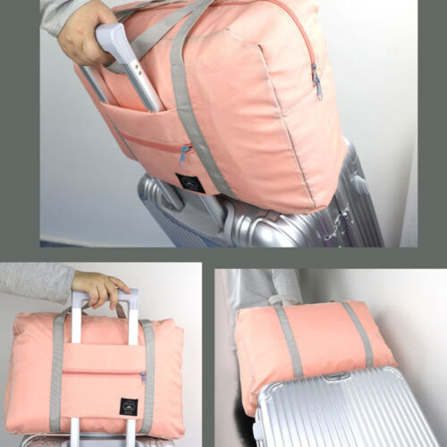 Foldable Duffel Bag Luggage Travel Pouch Tote Case