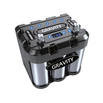 Gravity Audio GR-1000BC 1000A Car Battery Capacitor WITH LED