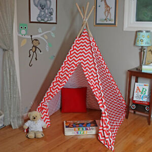 Children's awesome play teepee tipi tent lots of room like new
