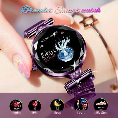Women&Girl Waterproof Bluetooth Smart Watch Ladies Phone Mate For Android iPhone