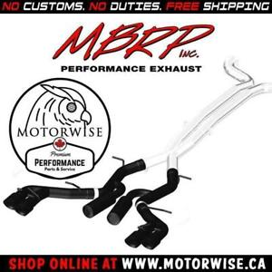 MBRP Race Series Catback in Black | 2016 to 2018 Camaro SS & ZL1 | Shop & Order Online at www.motorwise.ca