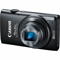 Canon Powershot Elph 330 HS Black 12.1MP Digital Camera