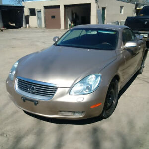 2002 LEXUS SC430 FOR PARTS