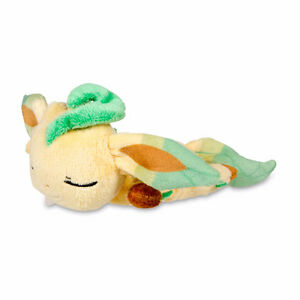 Pokémon Kuttari Plushie - Leafeon Asleep Version - From JAPAN Gatineau Ottawa / Gatineau Area image 1