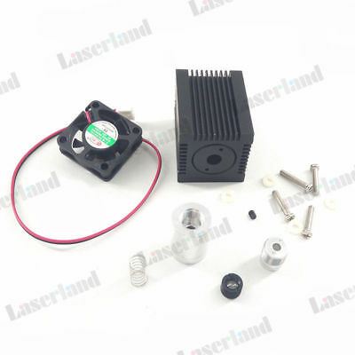 Housingcaseheatsink 5.6mm To18 Laser Diode Ld 405nm 450nm Blue Glass Lens Fan