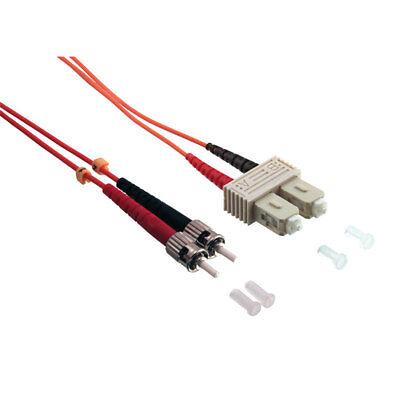 Sc Duplex 3m (LogiLink 3m Glasfaser Patchkabel LWL Netzwerkkabel Duplex OM2 50/125µ ST-SC)