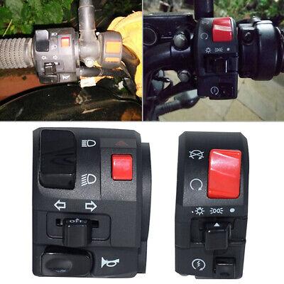 "7/8"" Motorcycle Handlebar Horn Button Turn Signal Fog Light Controller Switch"