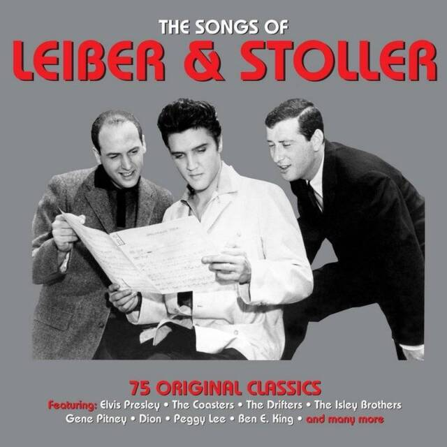 THE SONGS OF LEIBER AND STOLLER - 75 ORIGINAL CLASSICS (NEW SEALED 3CD)