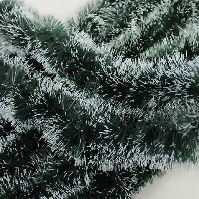 2M GREEN Shining  Tinsel Garland Christmas Tree Decoration  Party Decorations](Garland Christmas Decorations)