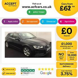 Audi A3 FROM £62 PER WEEK!