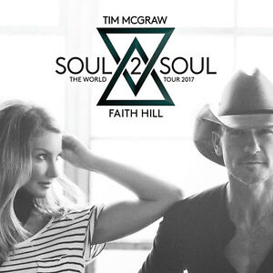 4 tickets Soul2Soul (Tim McGraw & Faith Hill) Toronto June 23 Sarnia Sarnia Area image 1