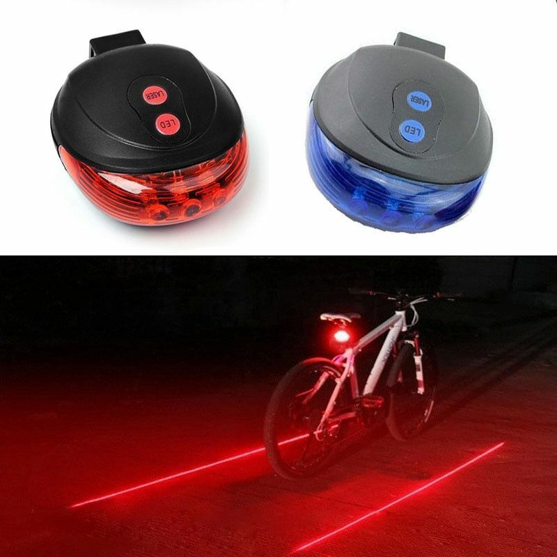 plastic bike bicycle tail safety warning lamp cycling bike rear reflector lig HK