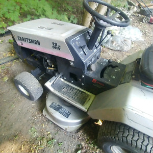 riding mower in great shape