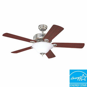 Westinghouse Silverdale 52 in. Ceiling Fan + Remote Control