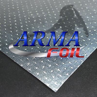 Arma Foil Radiant Barrier Reflective Insulation 48 Wide 1000 Sqft Attic