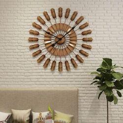 Large Metal Wall Clock Modern Design European Style Big Clocks Wall Watch Silent