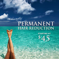 Laser Hair Removal 50% OFF your First Treatment. Starts at 45$