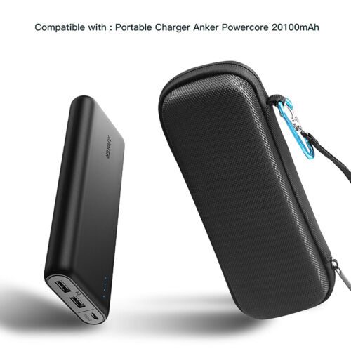 Hard Case Power Bank Carry Storage Charging Bag For Anker Po