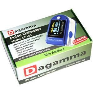 Dagamma Pulse Oximeter D5150 In Blue Sapphire