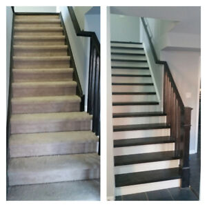 UPGRADE YOUR CARPET STAIR TO SOLID WOOD FROM $799