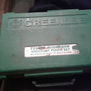 Greenlee 7238SB knock out punch set