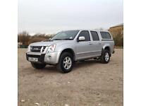 2009 Isuzu Rodeo 2.5TD 4WD Denver Manual in Silver NO VAT!
