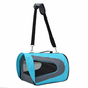Pawhut soft Oxford Pet Carrier Shoulder Bag for small dogs/cats/