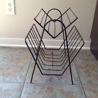 Porte Journal ** VINTAGE ** Magazine Rack