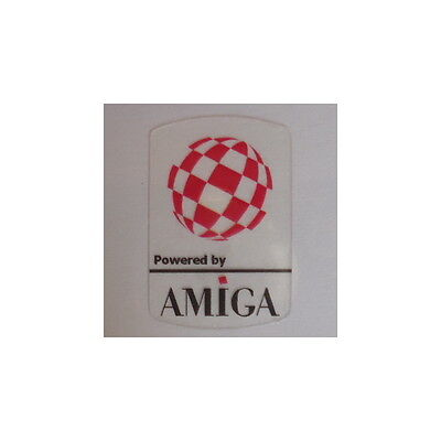 Commodore Amiga Clear Sticker Bouncing Ball 19x28mm [303c]
