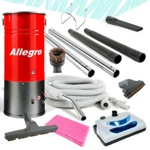 Allegro COMPACT Central Vacuum Unit+30' Electric + Hose Package