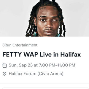 FETTY WAP LIVE IN CONCERT!! HALIFAX SHOW!! FORUM!! all ages!!
