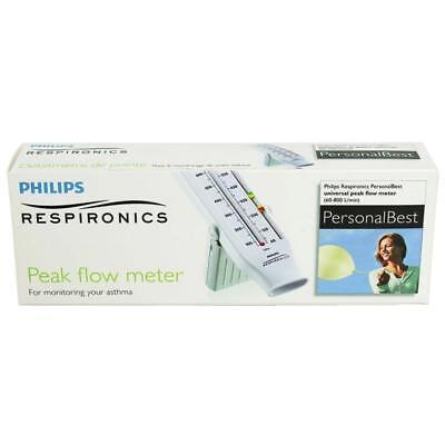 Philips Respironics Personal Best Peak Flow Meter Full Range (Asthma) Personal Best Full Range