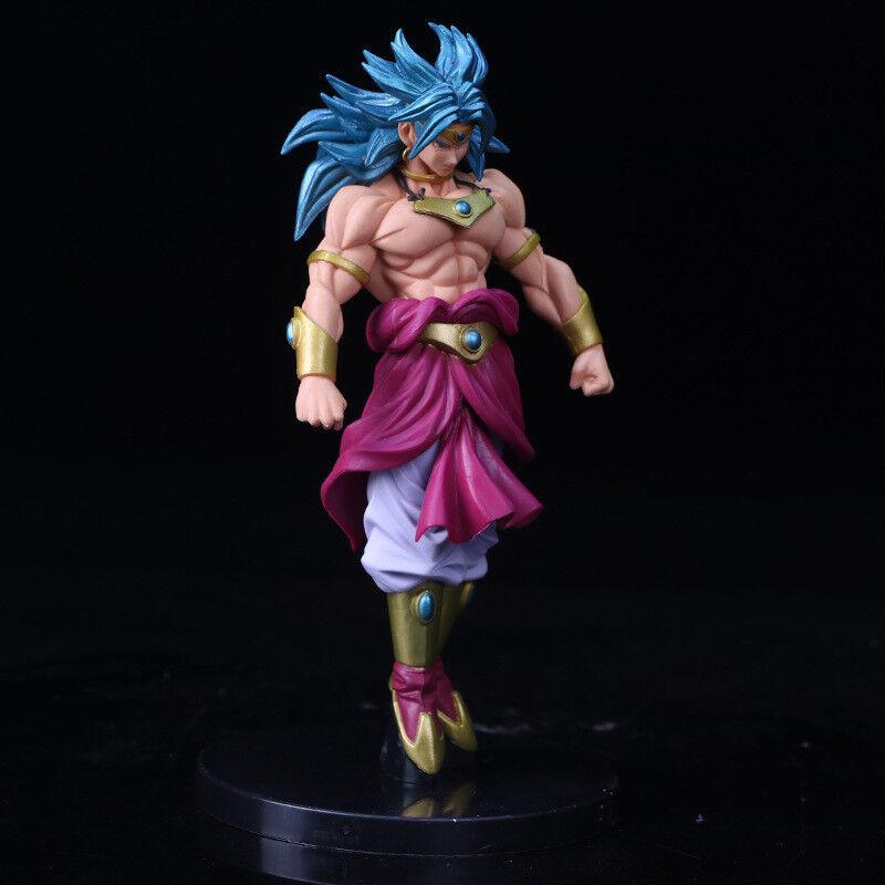 22CM Anime Dragon Ball Z Super Saiyan Broly PVC Action Figure Figurine Toys Gift
