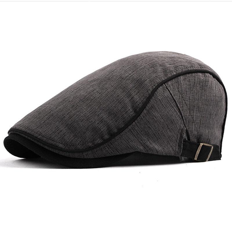 Men Duckbill Newsboy Gatsby Cap Casual Golf Driving Cabbie Beret Flat Ivy Hats Clothing, Shoes & Accessories