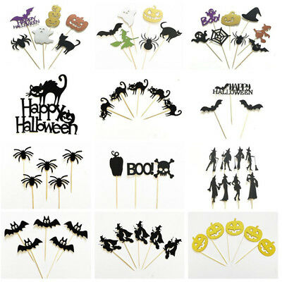 Cake Decoration Flag Cake Topper Photo Props Halloween Birthday Party Supplies
