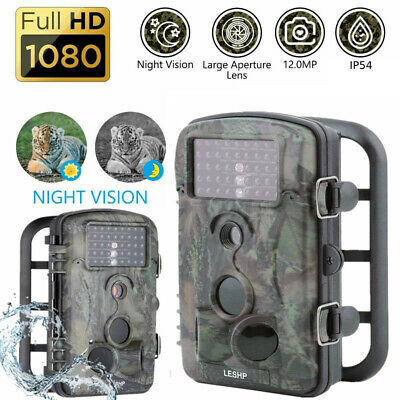 2Pack Hunting Trail Camera,Night Vision 1080P HD Covert Outdoor Trail Cam RD1000