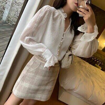 Yumomo flowy white blouse top sz xs/S madewell zara