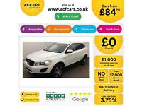 WHITE VOLVO XC60 2.4 D4 AWD R DESIGN LUX  2.0 SE 2WD G/T FROM £84 PER WEEK!